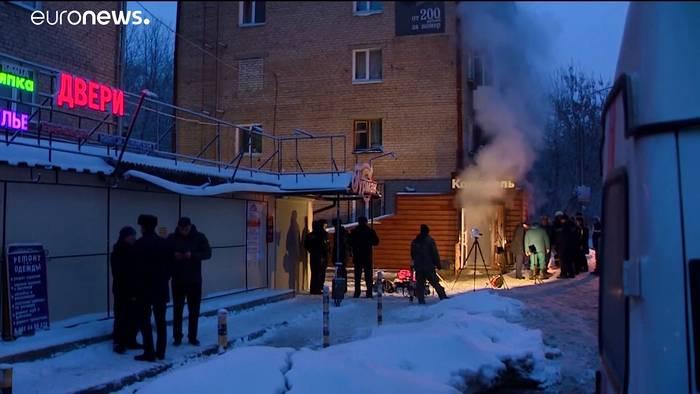 Video: 5 Menschen verbrühen bei Wasserrohrbruch im Ural
