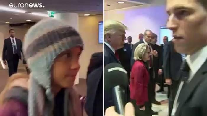 Video: Trump gegen Greta beim Weltwirtschaftsgipfel in Davos