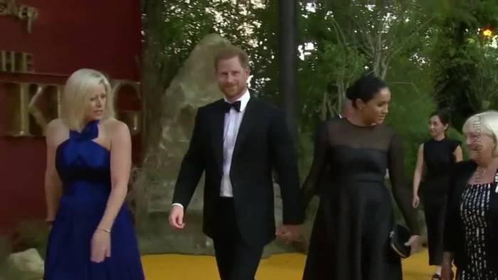 News video: Prinz Harry wieder bei Meghan und Archie in Kanada