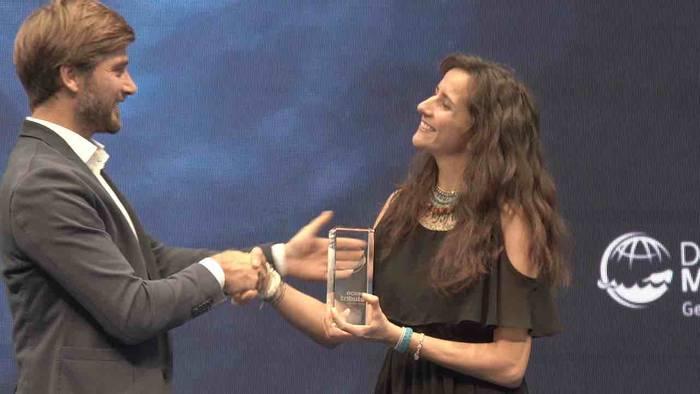 News video: Meeresschutz-Oscar 2020 verliehen: Ocean Tribute Award geht an