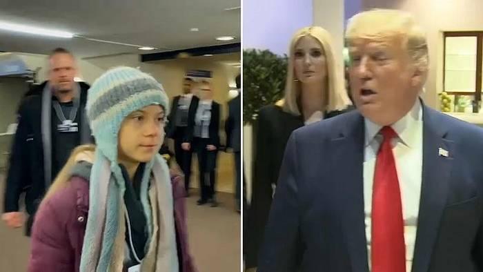 News video: Trump gegen Greta beim Weltwirtschaftsgipfel in Davos