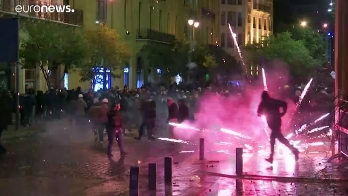 News video: Trotz neuer Regierung: Protestwelle in Beirut ebbt nicht ab