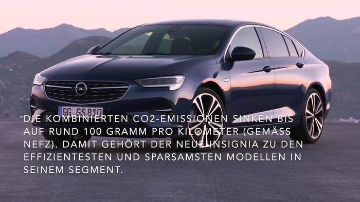 News video: Neuer Opel Insignia in Topform