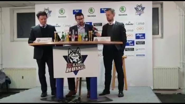 News video: Huskies siegen im Hessenderby