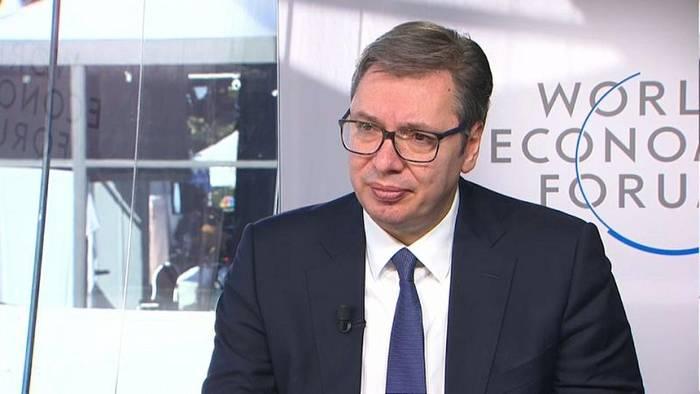 Video: Serbiens Präsident Vucic: