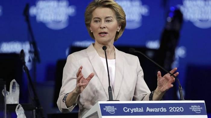 Video: Davos: Von der Leyen fordert zum Handeln auf