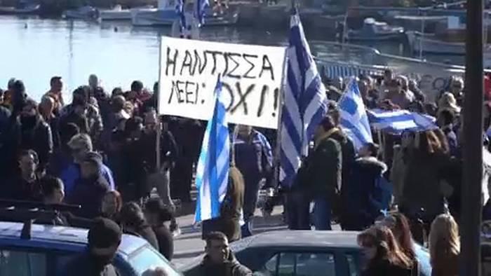 Video: Migrationskrise: Generalstreik auf den griechischen Inseln