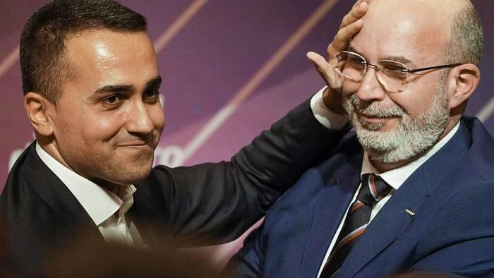 Video: Italien: Luigi di Maio tritt als Chef der Fünfsternebewegung zurück