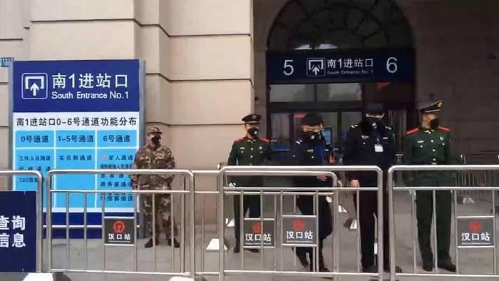 News video: China riegelt mehrere Städte ab: Kaiserpalast bleibt geschlossen