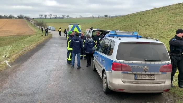 Video: Schulbusunfall bei Eisenach - Zwei Kinder tot