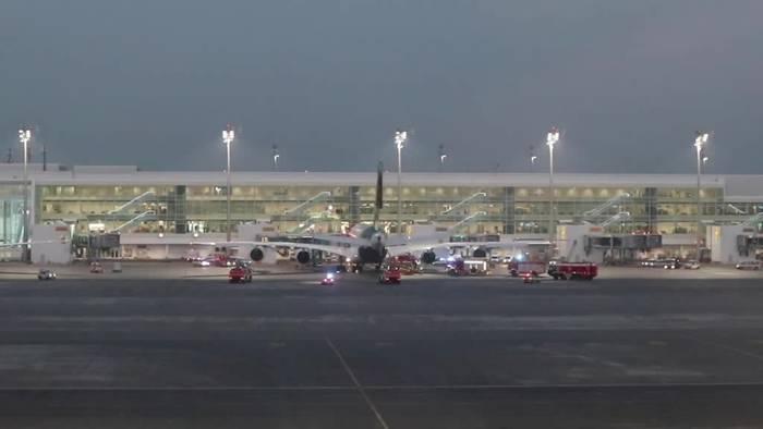 Video: Defekter Heizlüfter zwingt Lufthansa-Flugzeug zur Umkehr