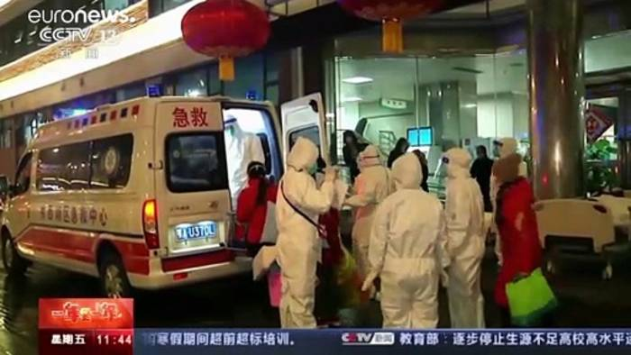News video: 37 Millionen abgeschottet: Chinas Regierung kämpft gegen das Virus
