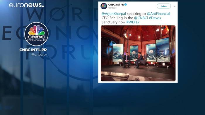 News video: Nach offiziellem WEF-Ende in Davos: Jetzt gibt's Smalltalk im Skilift