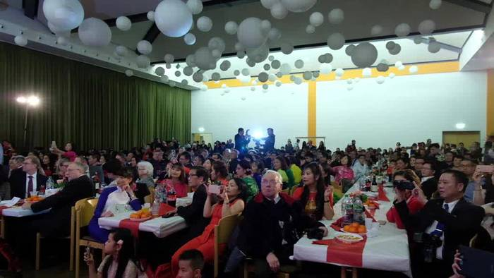 News video: Frohes Neues: Deutsch-Vietnamesen starten ins Jahr der Ratte
