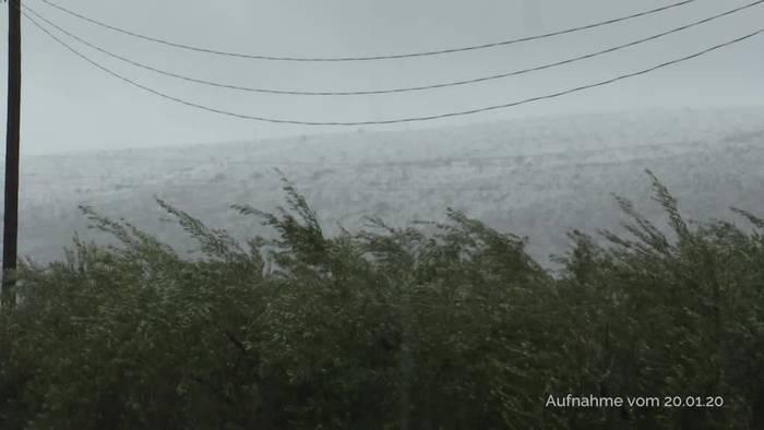 News video: Sturmtief «Gloria» wütet in Spanien: Zahl der Toten steigt