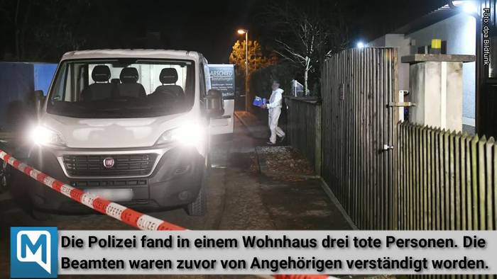 News video: Drei Tote in Starnberg