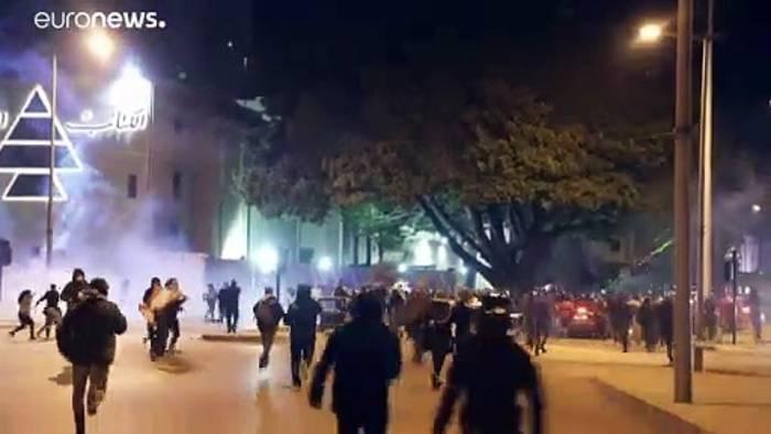 News video: Ausschreitungen in Beirut: Kritik an neuer Regierung