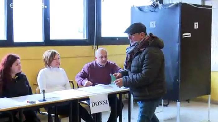 News video: Höhere Wahlbeteiligung bei Regionalwahlen in Italien