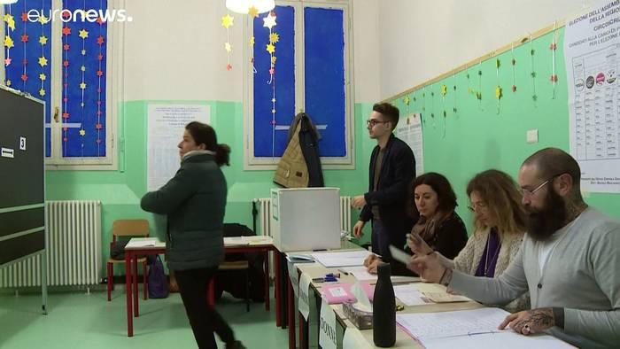 News video: Regionalwahlen als Test für Regierung in Italien
