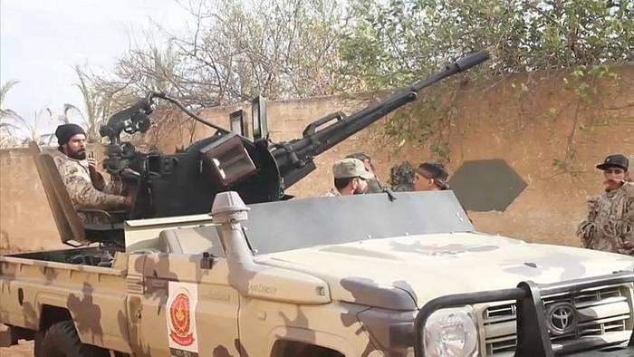 News video: Libyen - Waffenembargo gebrochen