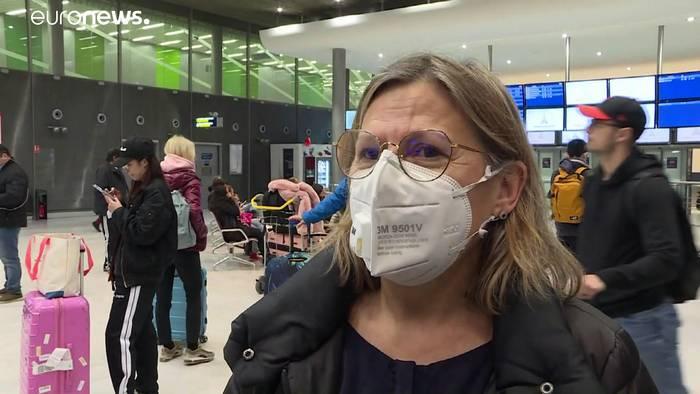 News video: Frankreich holt rund 100 Bürger aus Wuhan zurück