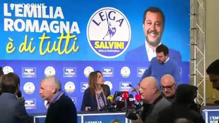 News video: Salvini hakt Emilia Romagna ab: