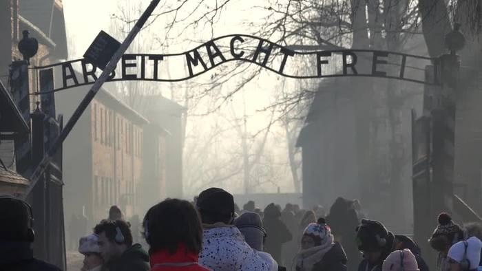 News video: Gedenkfeier zum 75. Jahrestag der Befreiung des KZ Auschwitz