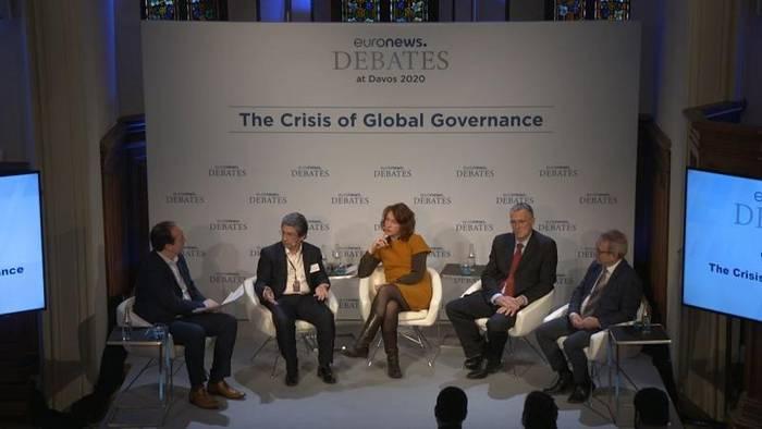 Video: Ordnungspolitik weltweit in der Krise? Euronews-Debatte in Davos