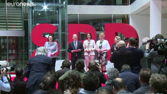 News video: Berliner SPD: Giffey soll auf Bürgermeister Müller folgen