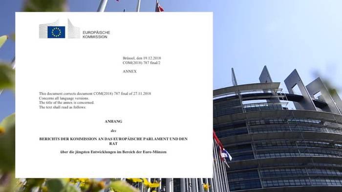 News video: 1- und 2-Cent-Münzen: EU prüft Abschaffung