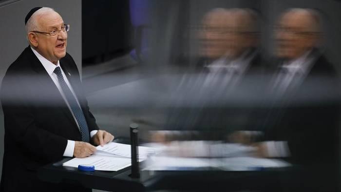 News video: Gemeinsames Gedenken an NS-Opfer: Rivlin und Steinmeier im Bundestag