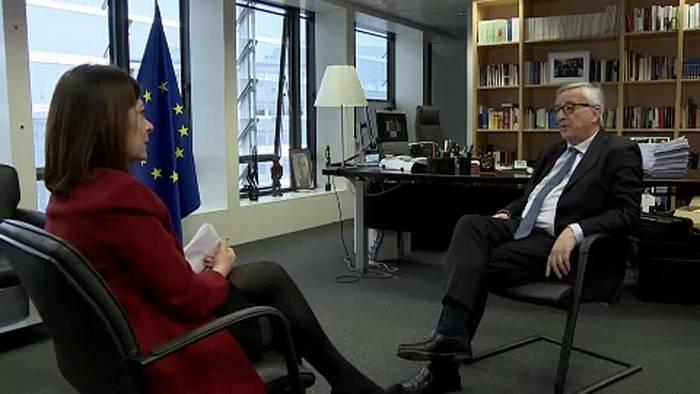 News video: Juncker: Großbritannien jetzt nicht bestrafen