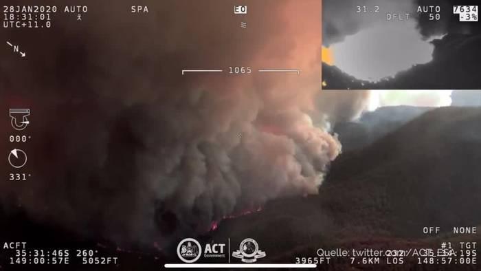 News video: Feuer in Canberra - Notstand in Australien ausgerufen