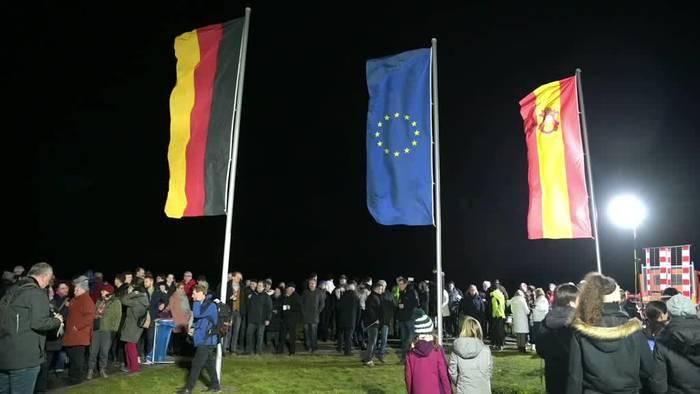 News video: Brexit: Feld bei Würzburg ist nun Mittelpunkt der EU