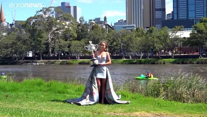 News video: Sofia Kenin nach Australian-Open-Sieg: