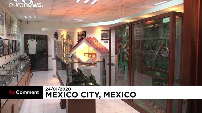 News video: Museum der Drogenbosse in Mexiko Stadt