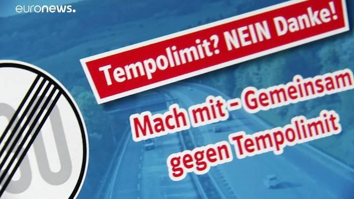 News video: Internetkampagne der CSU: kein Tempolimit von 130 km/h