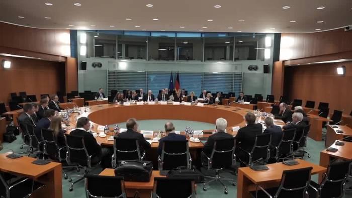 News video: Merkel für «faire Beziehungen» zwischen Bauern und Handel