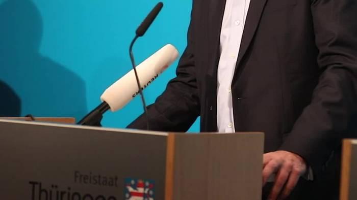 Video: Rücktritt in Thüringen: Kemmerich will Korrektur mit Neuwahl