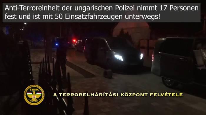 News video: Schlag gegen Drogenmafia in Osteuropa! Anti-Terror-Einheit schlägt zu