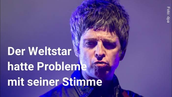 Video: Liam Gallagher bricht Konzert in Deutschland ab