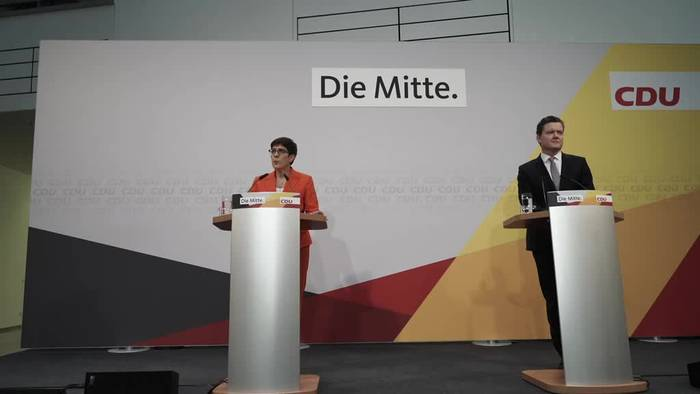 News video: CDU fordert Kompromisskandidaten in Thüringen