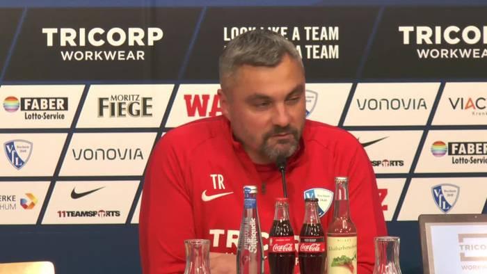 Video: Die etwas andere Pressekonferenz beim VFL Bochum