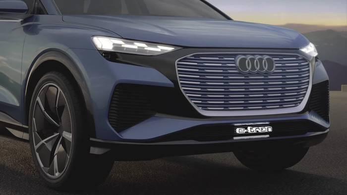 News video: Audi Q4 Design e-tron concept Packaging und Design