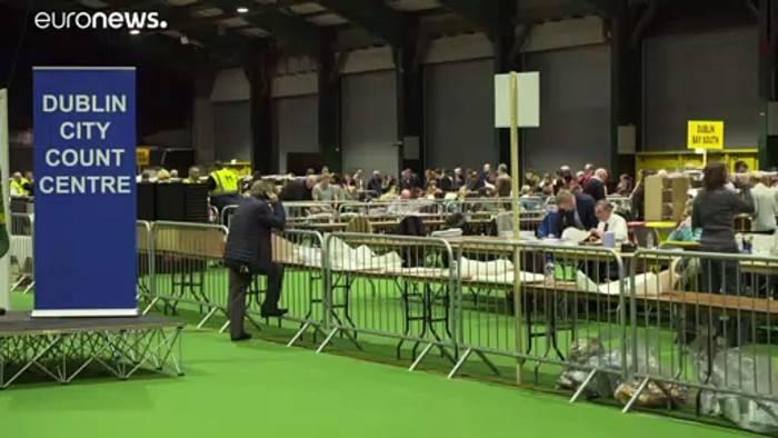 News video: Sinn Fein überrascht bei der Wahl in Irland