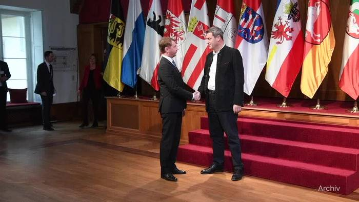 News video: CSU-Chef Söder: Mein Standort ist in Bayern