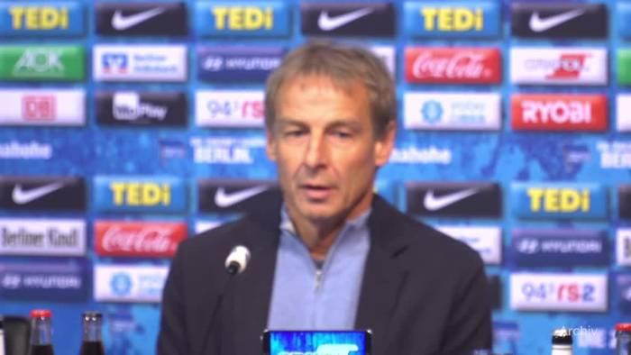 Video: Klinsmann: Rücktritt als Hertha-Coach nach nur 10 Wochen