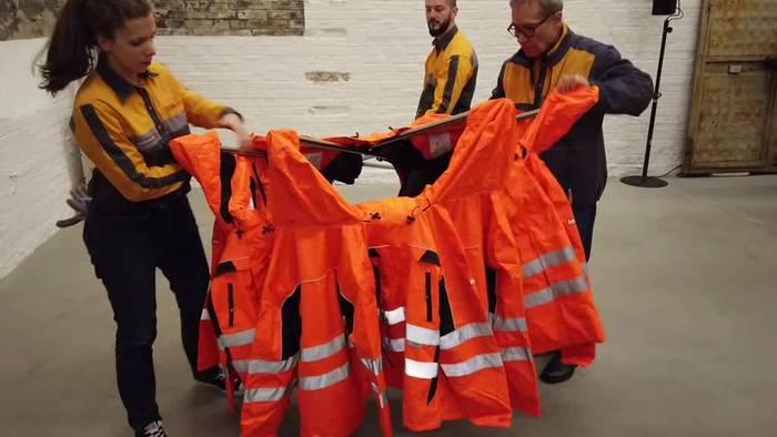 Video: Künstler Ai Weiwei entwirft «Safety Jackets» zum Selbstbauen