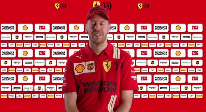 Video: F1 Ferrari SF1000 - Interview mit Sebastian Vettel