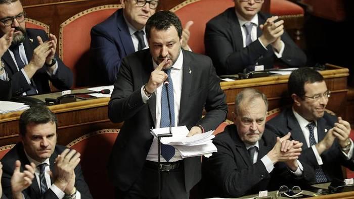 News video: Italienischer Senat hebt Immunität von Ex-Minister Salvini auf